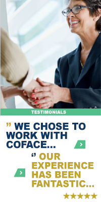 We choose to work with Coface